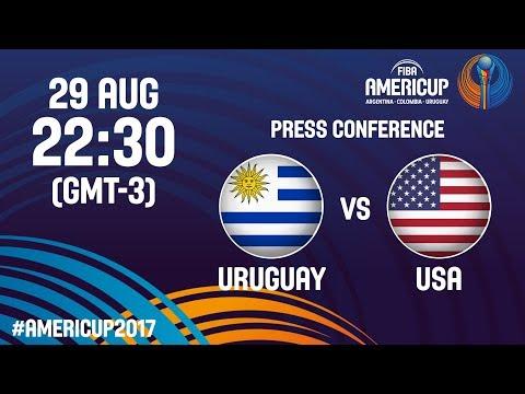 Uruguay v USA - Press Conference