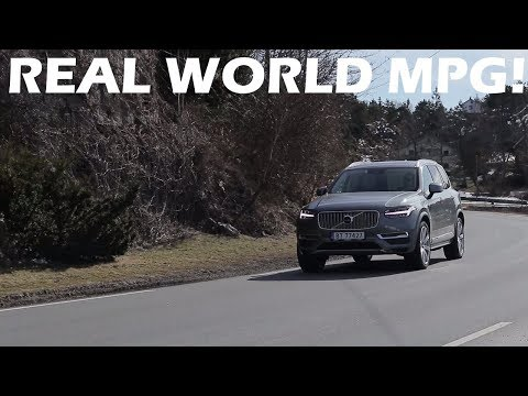 2018 Volvo XC90 T8: Real World Fuel Consumption!