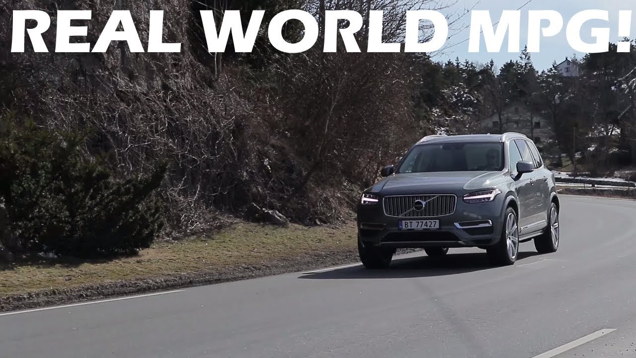 2018 Volvo Xc90 T8 Real World Fuel Consumption