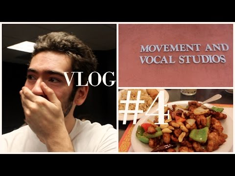 Vlog #4 - A RAINY DAY AT THE AMERICAN ACADEMY OF DRAMATIC ARTS