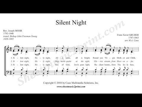 Silent Night - Choir SATB