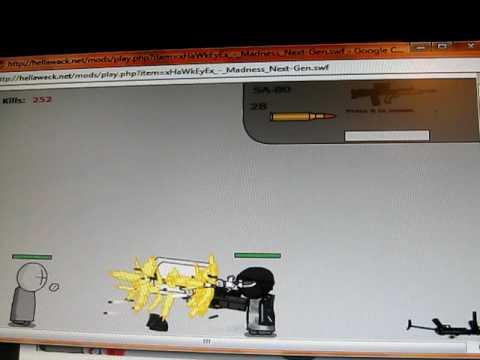 Madness Interactive Mod and Glitch