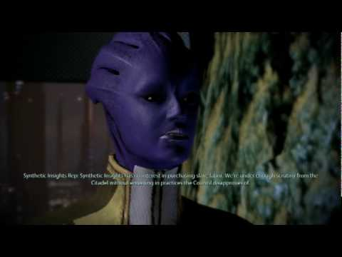 Tali's thoughts on her people being enslaved