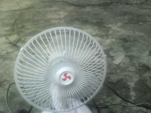 Directly running the fan using Solar Power
