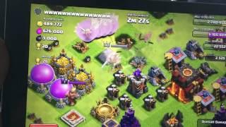 Clash of clans 300 Valkyrie dan 300 Penyembuh pada lvl 40 Raja!
