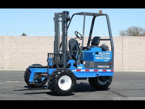 2008 Princeton PB50 PiggyBack Forklift