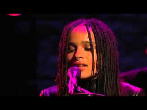 Zoe Kravitz and Twin Shadow  No Ordinary Love Live Late Night with Seth Meyers 2015