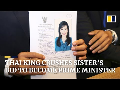 Thai princess's bid to be prime minister ends after king intervenes