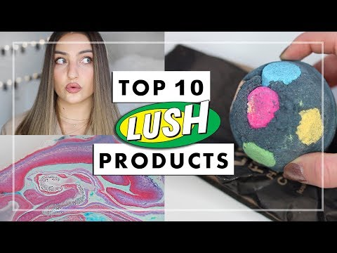 Top 10 Best LUSH Christmas Products + DEMOS!