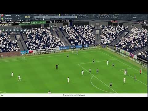 Football Manager 2018, last game before group phase. VFC