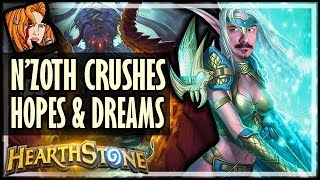 N'Zoth Crushes Hopes & Dreams in 2019 - Rise of Shadows Hearthstone