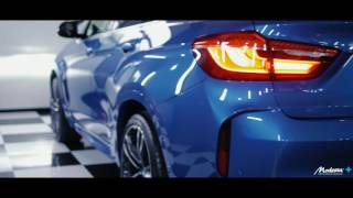 MODESTA GLASS COATING BMW X6M LONG BEACH BLUE MULTI COATING AUTO DETAILING
