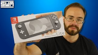 Nintendo Switch Lite Unboxing (Initial Impressions)