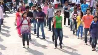 ICC World Twenty20 Bangladesh 2014 - Flash Mob University Of Science & Technology Chittagong (USTC)