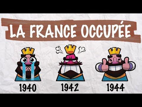 La France défaite et occupée - histoire - 3ème