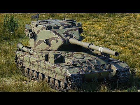 World Of Tanks FV215b (183) - 10 Kills 11,3K Damage