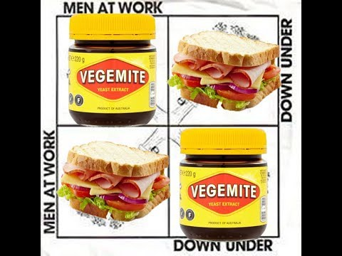 Down Under by Men At Work but every noun is replaced with