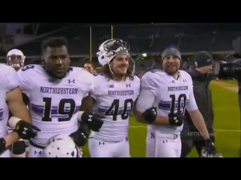 Northwestern Football 2015 Regular Season Highlights