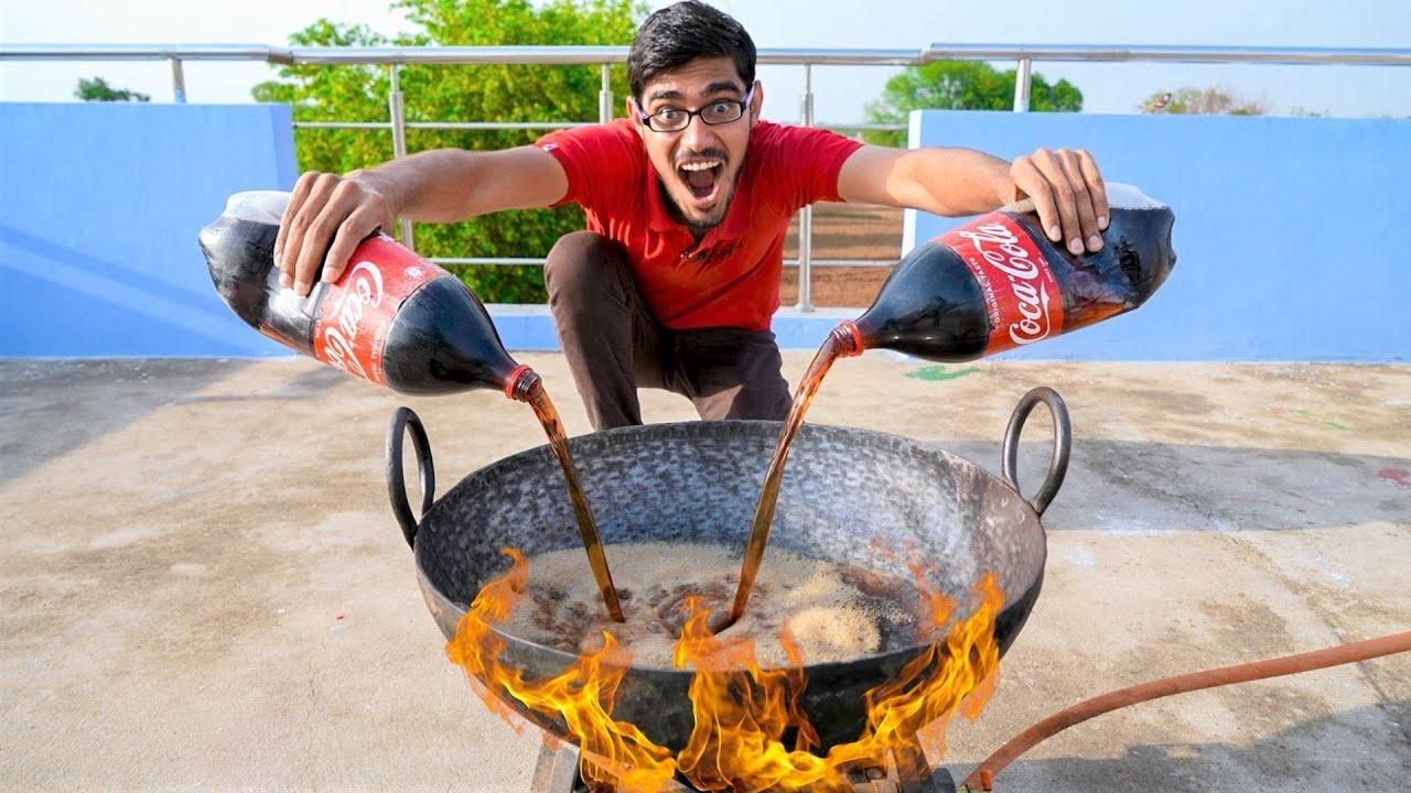 Making Sugar From Coca-Cola | क्या कोका कोला से चीनी बन सकती है? Let's Try