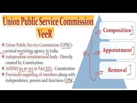 L-64-Everything about- UPSC- संघ लोक सेवा आयोग- (Laxmikanth Polity) By VeeR