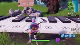Play the Sheet Music at Piano near Lonely Lodge - Fortnite Season 7 Challenge