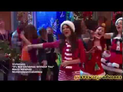 OFFICIAL VIDEO! | It's Not Christmas Without You - VicTORIous Cast |