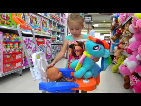 Thumbnail: Kids Shopping at the supermarket / Baby Nursery Rhymes Songs for babies and toddlers