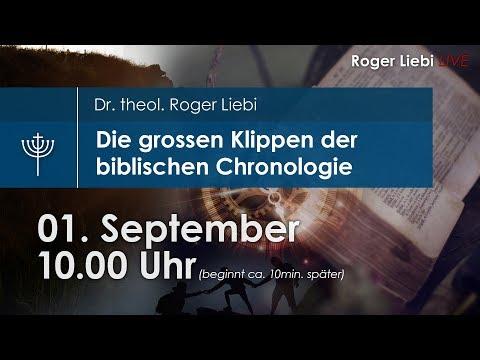 Die Grossen Klippen Der Biblischen Chronologie