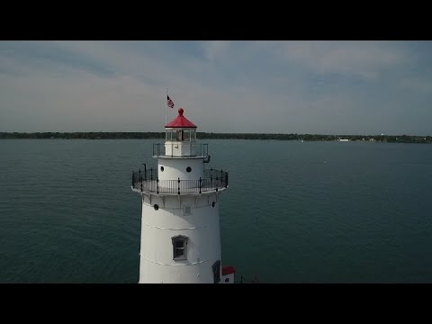 Harbor Beach Lighthouse lights new lens and 130th birthday celebration