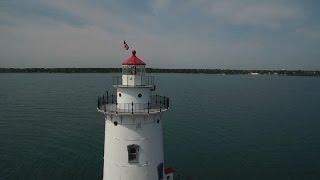 Harbor Beach Lighthouse lights new lens and 130th birthday celebration