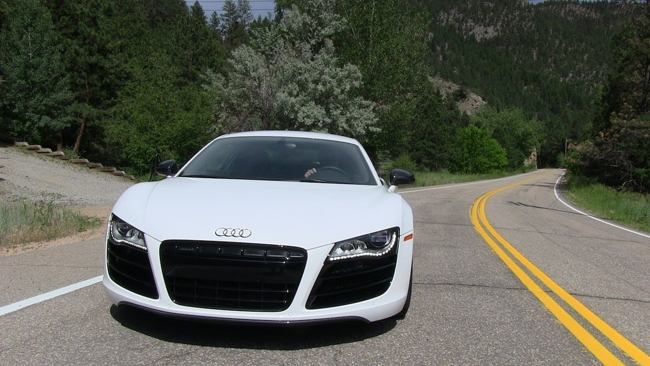 Audi R V Quattro MPH Mile High Performance Test - Audi r8 0 60