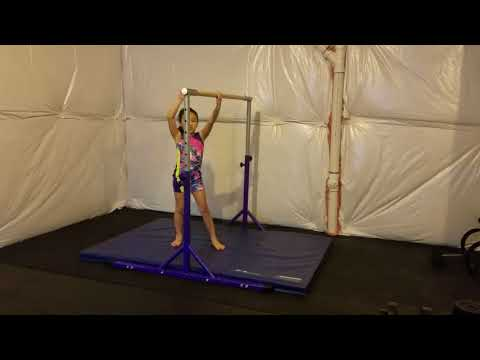 Gymnastics bar tricks