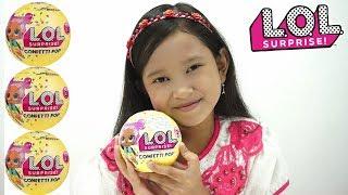 Mainan Anak LOL Surprise Doll Series 3 Confetti POP 💖 Jessica dapat Rare ngak ya???