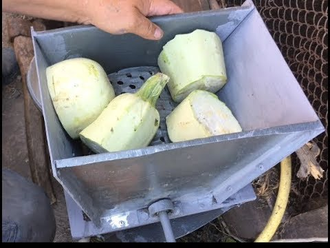 Изготовление терки для овощей своими руками