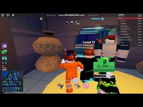 Roblox Jailbreak Prisoner Gameplay(No Commentary) |