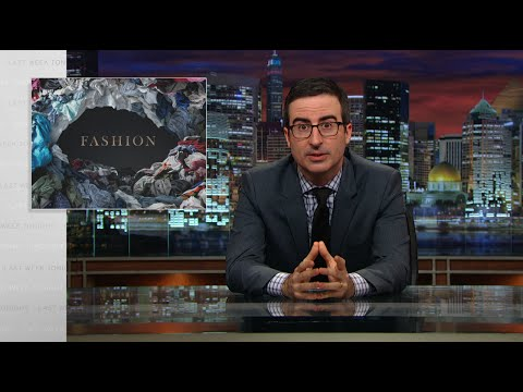 Last Week Tonight with John Oliver: Fashion (HBO) video