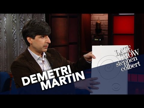 Demetri Martin Shares His Early Comedy Drawings Youtube