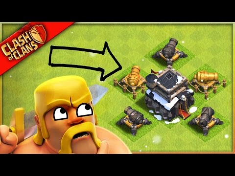 DON'T UPGRADE CANNONS IN Clash of Clans?!