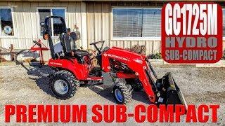 Massey Ferguson GC1725M Premium Sub-Compact Tractor