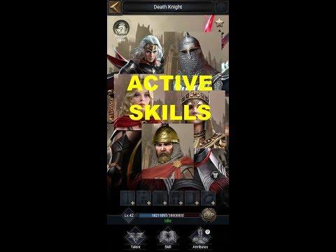 Clash Of Kings : HERO ACTIVE SKILLS