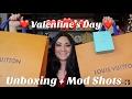 Valentine's Day Unboxing | Louis Vuitton | Tiffany & Co. + Mod Shots!!!