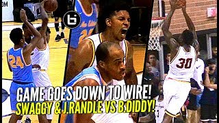 Nick Young & Julius Randle VS Baron Davis at Drew League! Swaggy TURNS UP!