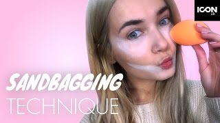 Kim Kardashian Sandbagging Makeup Technique | Roxxsaurus