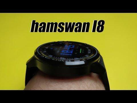 Бессмертные (почти) смарт часы Hamswan L8. Подключение, настройка и обзор функций.