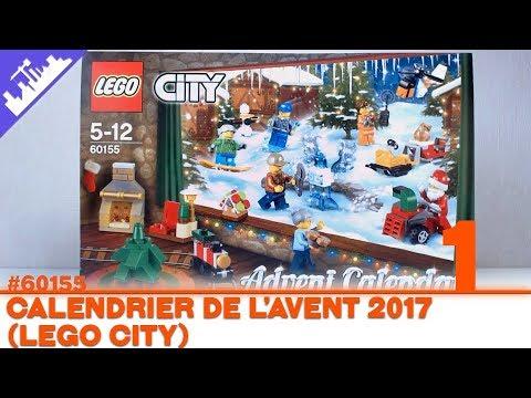 Calendrier Avent Lego City.Calendrier De L Avent Lego City Jour 1 2017 Francais