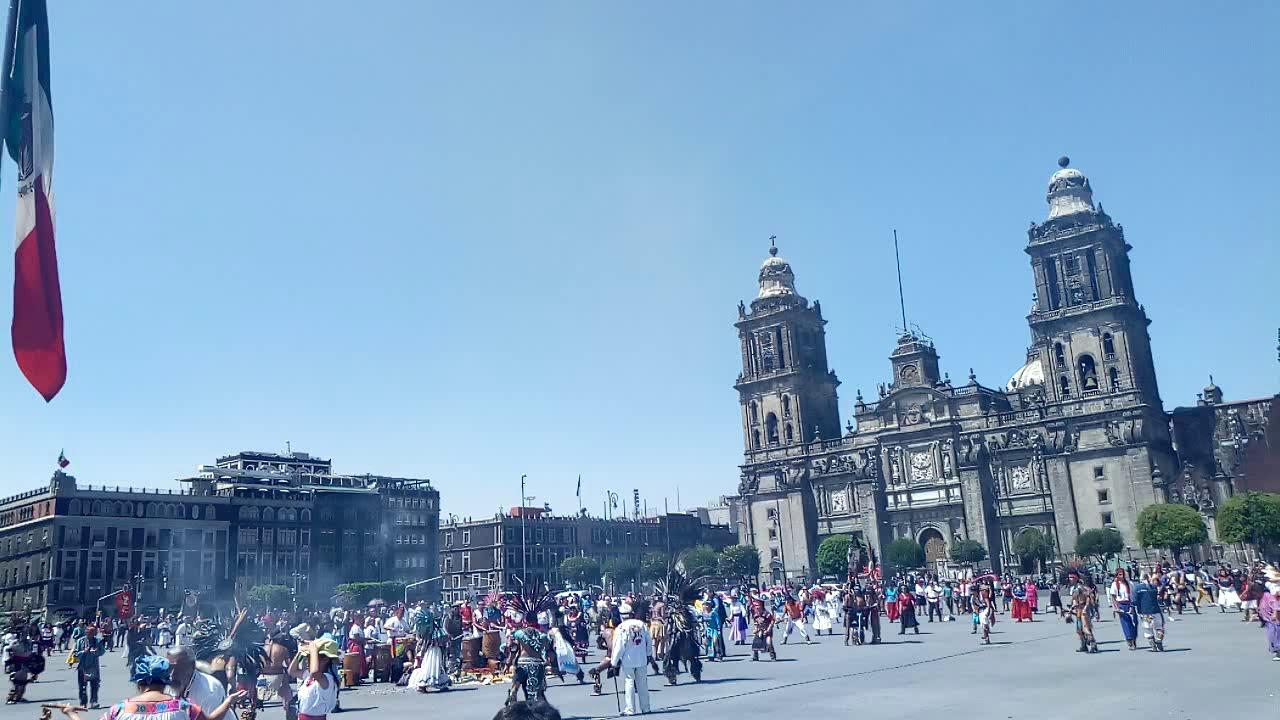 DANZA AÑO NUEVO MEXHICA 2019 TENOCHTITLAN PARTE 6