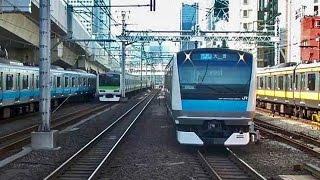 JR神田↔東京駅ラッシュアワー Railway Rush Hour  Kanda↔Tôkyô Station