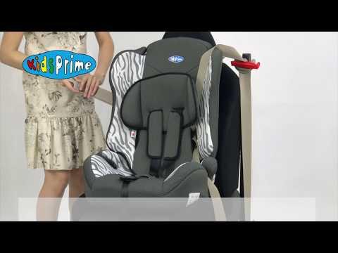 Как установить детское автокресло Kids Prime LB 513