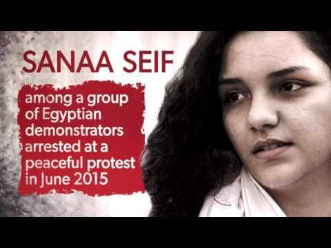 #FreeThe20: Sanaa Seif