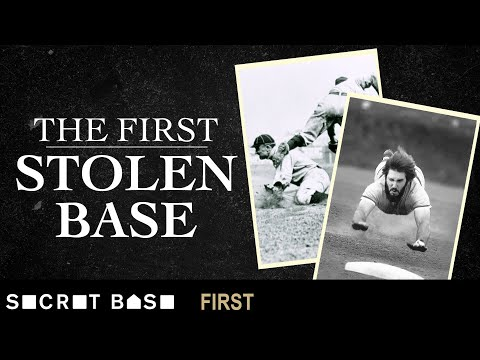 Baseball's first stolen base exploited a loophole in the rulebook